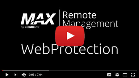 Webprotection Solarwinds MSP Remote Monitoring & Management.  Logicnow MAX Remote monitoring & Management