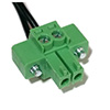 B+B SmartWorx Terminal block 2-pin PS v2 routers BB-CON-WR2
